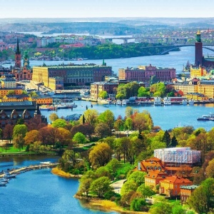 THỤY ĐIỂN : STOCKHOLM...